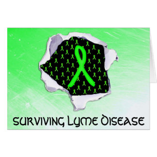 Surviving Lyme Disease Superpower Support Card