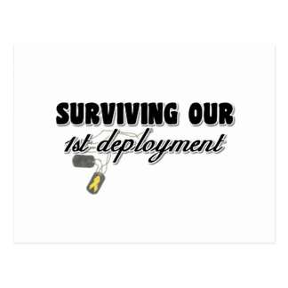 Surviving Our 1st Deployment Postcard