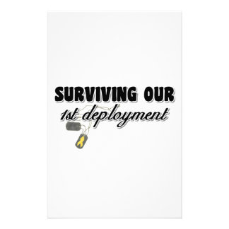 Surviving Our 1st Deployment Stationery