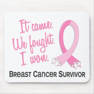 Survivor 11 Breast Cancer Mouse Pad