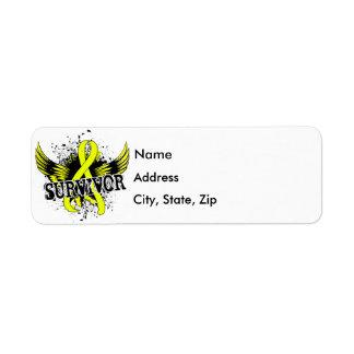 Survivor 16 Bladder Cancer Return Address Label
