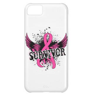 Survivor 16 Breast Cancer iPhone 5C Cases