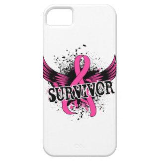 Survivor 16 Breast Cancer iPhone 5 Case