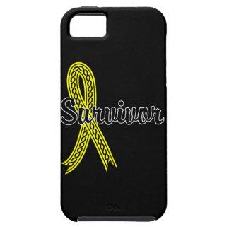 Survivor 17 Bladder Cancer iPhone 5 Case