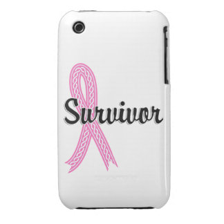 Survivor 17 Breast Cancer Case-Mate iPhone 3 Cases