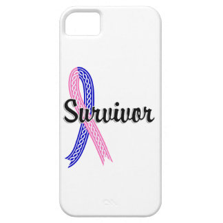 Survivor 17 Male Breast Cancer iPhone 5 Covers