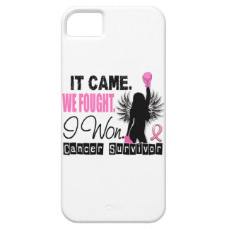 Survivor 22 Breast Cancer iPhone 5 Covers
