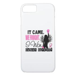 Survivor 22 Breast Cancer iPhone 7 Case
