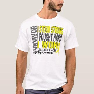 Survivor 4 Bladder Cancer T-Shirt