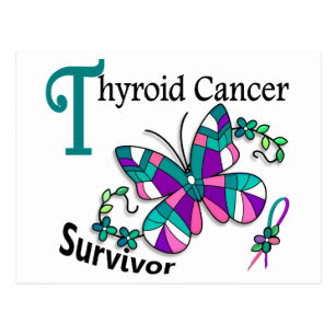 Thyroid Cancer Ribbon Cards Greeting Cards More Zazzle Ca