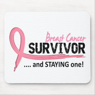 Survivor 8 Breast Cancer Mouse Pad