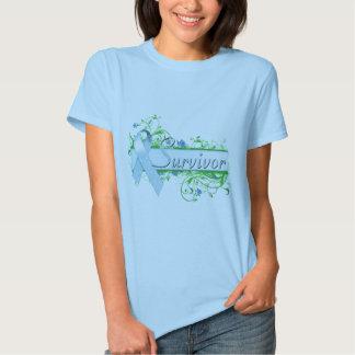 Survivor Floral Light Blue Shirts