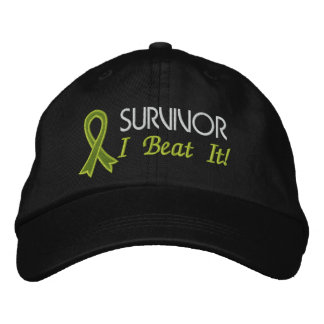Survivor - I Beat It! Lymphoma Embroidered Hats