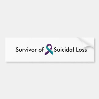 Survivor of Suicidal Loss Bumper Sticker