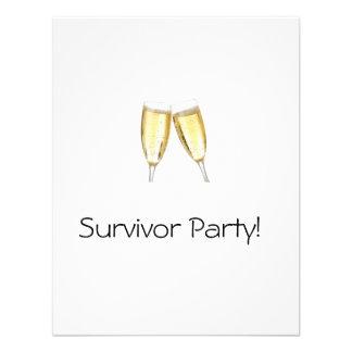 Survivor Party Custom Announcement