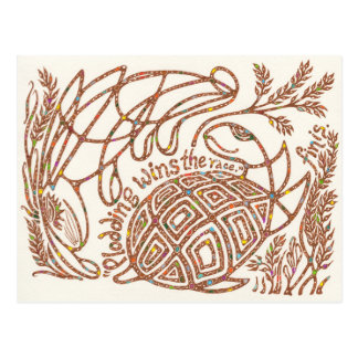 Survivors Hub 10: Aesop's Tortoise and the Hare Postcard