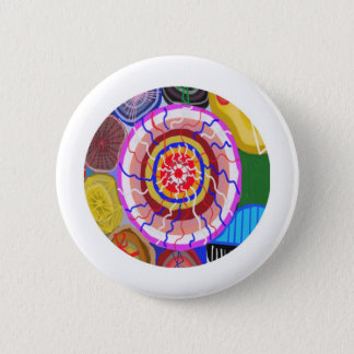 Surya Chakra - Sun Source Energy 2 Inch Round Button