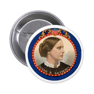 Susan B. Anthony 2 Inch Round Button