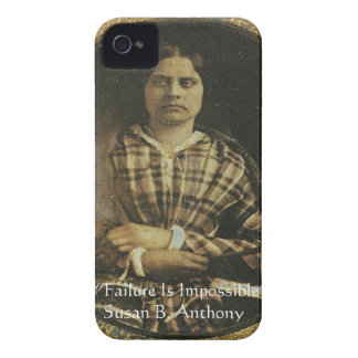 Susan B Anthony Wisdom Quote Gifts & Cards iPhone 4 Cases