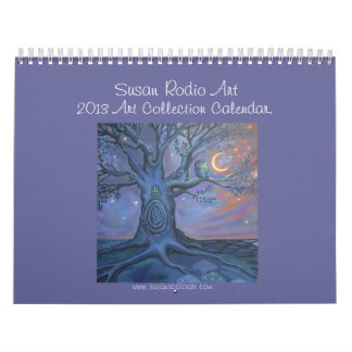 Susan Rodio Art Collection 2013 Calendar