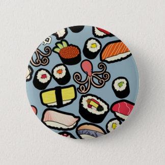 Sushi 2 Inch Round Button