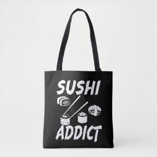 Sushi Addict funny foodie bag