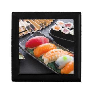 Sushi and rolls keepsake box