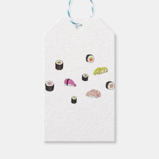 Sushi and Sashimi Gift Tags