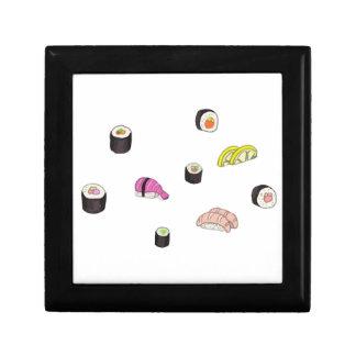 Sushi and Sashimi Jewelry Box