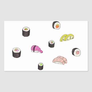 Sushi and Sashimi Sticker