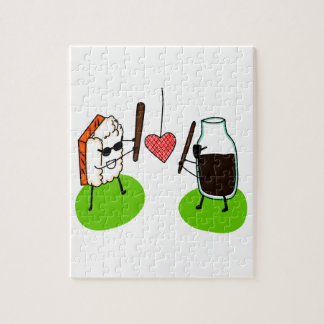 Sushi and Soy Sauce Jigsaw Puzzle