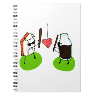 Sushi and Soy Sauce Notebook