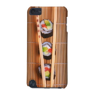 Sushi and wooden chopsticks iPod touch (5th generation) cases
