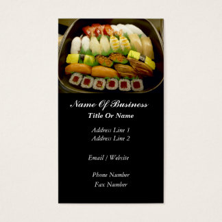 Sushi Bar Business Card