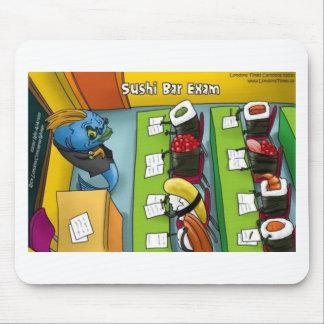 Sushi Bar Exam Tees Mugs Cards Gifts Etc Mouse Pad