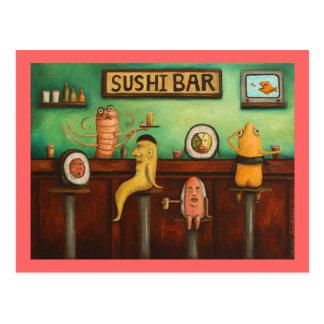 Sushi Bar Postcards