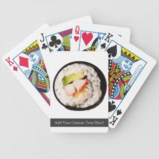 Sushi Bicycle Playing Cards