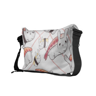 Sushi Bunny Messenger Bag