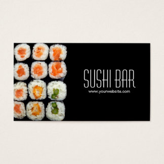 Sushi Business Card