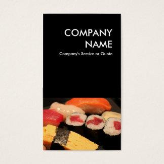sushi business card