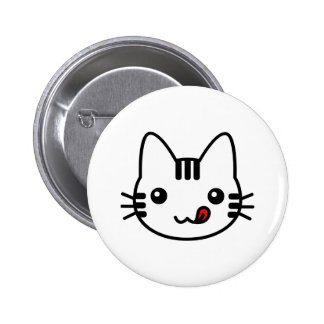 Sushi Cat 2 Inch Round Button