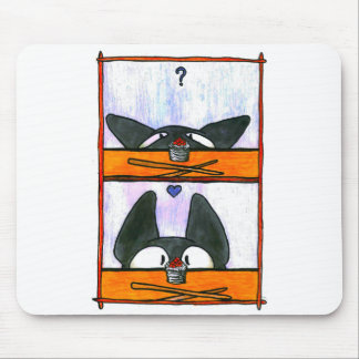 Sushi Cat! Mouse Pad