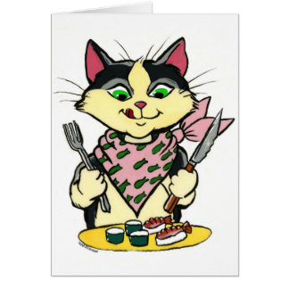 Sushi Cat NoteCard