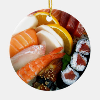 Sushi Ceramic Ornament