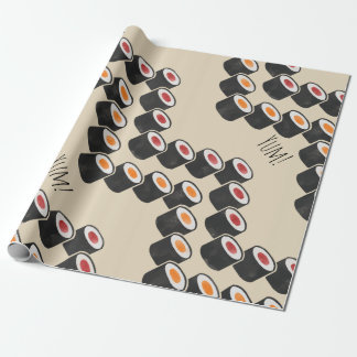 Sushi Chevron in Color Wrapping Paper