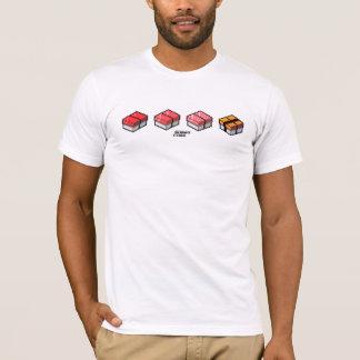 SUSHI CUBE [type 01] T-shirt/sushi handle T shirt