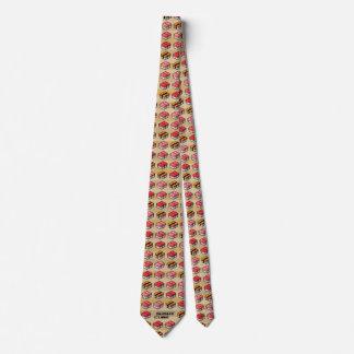 SUSHI CUBE [type 01] tie/sushi handle necktie