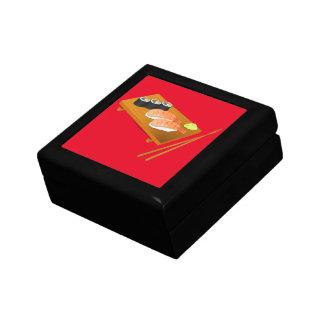 Sushi cute Japanese food Keepsake Boxes
