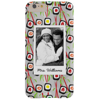 Sushi Design Pattern | Monogram Barely There iPhone 6 Plus Case