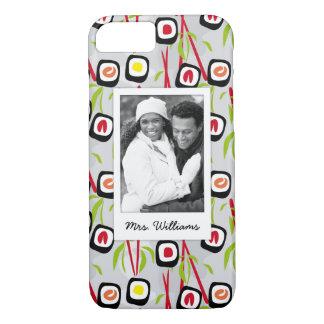 Sushi Design Pattern   Monogram iPhone 8/7 Case